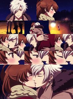 Immagine di anime, kiss, and brothers conflict