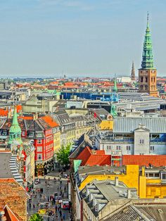 Copenhagen, Denmark- It is really a very friendly place to foreigners, great food and culture and a magic daylight.