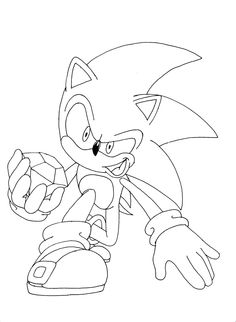 coloring pages sonic x | Printable Sonic the Hedgehog Silver Coloring in sheets ...