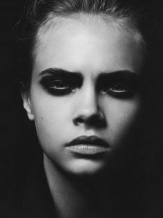 Style Spotlight: Cara Delevingne. Let's talk about those eyebrows because they're great.