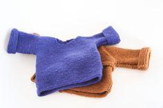 les tricots de Granny: pull naissance