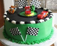 Disney cars birthday party food race tracks Ideas for 2019 Pixar Cars Birthday, Race Car Birthday, Cars Birthday Parties, Cake Birthday, 4th Birthday, Birthday Ideas, Car Cakes For Boys, Race Car Cakes, Race Track Cake