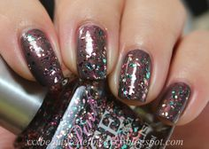 Rue 21 Pink Ice Glitter Polishes - Multi
