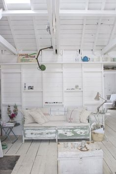 Rustic, comfy. love the exposed ceiling rafters!!!!!!