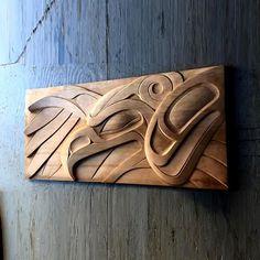 Afbeeldingsresultaat voor carved thunderbird panel