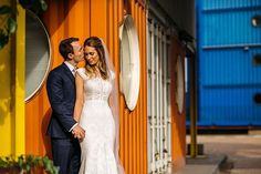 Melissa & Ed's day was bright and colourful with their celebrations taking place @trinitybuoywharf - An amazing #Londonweddingvenue with an urban vibe and great views across the city.  I am really looking forward to editing the rest of these :)