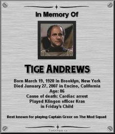 Tige Andrews