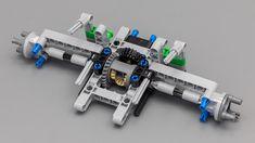 Lego Technic Truck, Lego Gears, Lego Craft, Lego System, Lego Moc, Lego Instructions, Lego Batman, Lego Building, Lego Brick