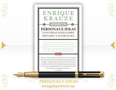 El #RegaloPerfecto es PERSONAS E IDEAS de Enrique Krauze