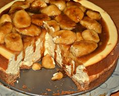 Make Bananas Foster Cheesecake Recipe