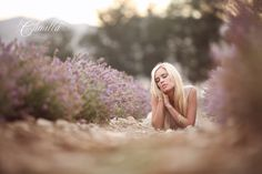 utah lavender field photo shoot