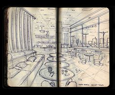 Selected works from my very first #Moleskine on Behance