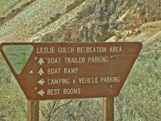 Slocum Creek Campground at Leslie Gulch