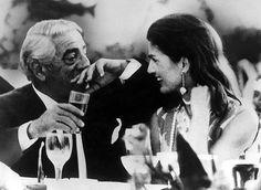 Aristotle Onassis and Jackie Kennedy