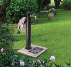 Results images for modern garden fountains Backyard Projects, Outdoor Projects, Backyard Patio, Garden Projects, Backyard Landscaping, Garden Sink, Water Garden, Garden Hose Holder, Garden Fountains