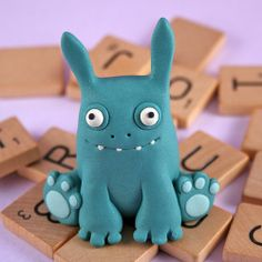 Polymer Clay Sculptures, Sculpture Clay, Diy Clay, Clay Crafts, Diy For Kids, Crafts For Kids, Ballon Animals, Clay Monsters, Clay Design