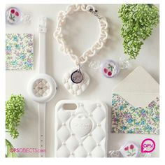 OPS OBJECTS! Jewels IPhone Case  Watch  White accessories