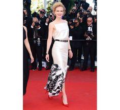 Montée des marches du film the Venus in fur Nicole Kidman en Chanel croisière 2014