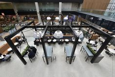 Galleria Foodcourt, 385 Bourke St, Melbourne, Australia, by MTRDC. Photography by MStyle&Co.