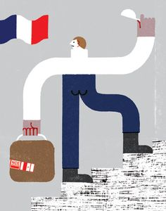 Nous Vous - New York Times about French workers encouraged to leave the country to gain experience overseas.