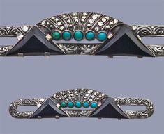 Victorian Jewelry, Antique Jewelry, Vintage Jewelry, Silver Jewelry, Art Deco Home, Art Deco Era, Art Deco Jewelry, Jewelry Design, Art Deco Fashion