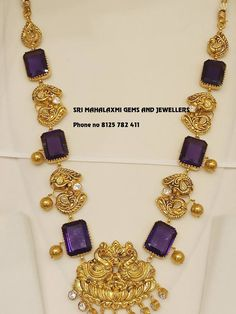 Check Out These Small (& Stunning) Gold Necklace Designs Gold Earrings Designs, Gold Jewellery Design, Necklace Designs, Handmade Jewellery, Antique Jewellery, Silver Jewellery, Jewellery Sale, Temple Jewellery, Bridal Jewellery