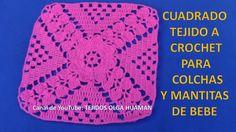 Las 194 Mejores Imágenes De Colchas Tejidas En 2019 Crochet
