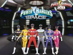 Power Rangers 20- In Space by ThePeoplesLima on DeviantArt