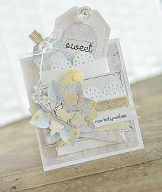 Card: Sweet New Baby Wishes