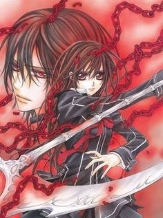 5 Anime, Anime Shows, Anime Love, Anime Guys, Yuki And Kaname, Yuki Kuran, Vampires, Vampire Knight Zero, Yuki And Zero
