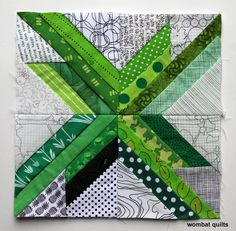 This week's paper piecing star is a easy, fun one... The straight star is another relatively simple 8 inch star block...using just 28 pieces none of which are weirdly shaped or angled. A&nbsp...