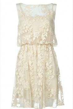 Love the lace! Would be a perfect rehearsal dinner dress!