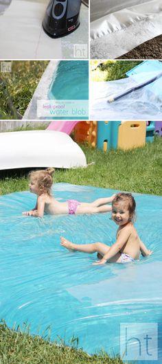 Leak-Proof Water Blob