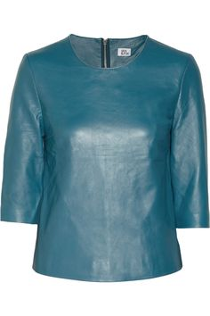 Leather top by Iris & Ink
