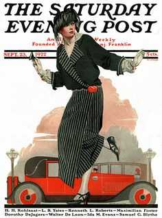 Coles Phillips : Cover art for The Saturday Evening Post, 23 September 1922