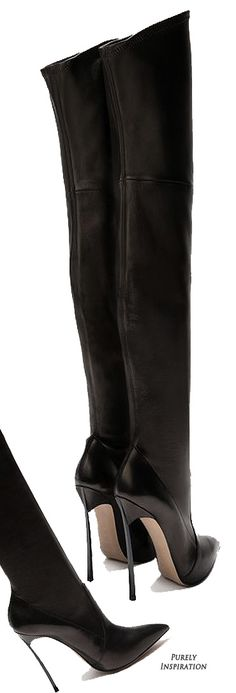 Casadei Blade Boots | Purely Inspiration