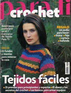 PARA TI CROCHET 2001 - claudia Rabello - Álbuns da web do Picasa
