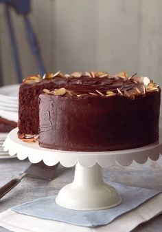 Best-Ever Chocolate Fudge Layer Cake – The extra chocolate and pudding mix incorporated in the batter makes this fudge cake recipe not just super rich, moist, and amazingly delicious, but great for a variety of occasions.