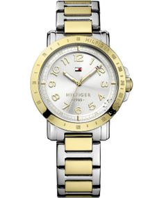 Tommy Hilfiger Women's Gold-Tone Stainless Steel Bracelet Watch 1781395 Tommy Hilfiger Watches, Tommy Hilfiger Women, Stainless Steel Watch, Stainless Steel Bracelet, The New Classic, Gold Plated Bracelets, Rose Gold Watches, Stylish Watches, Boutique