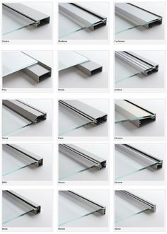 aluminum fronts with frosted glass. aluminum glass cabinet doors.: