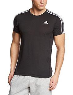 cheap for discount 1ea66 8c335 maglietta fitness - Adidas - Maglietta Uomo Essentials - Nero - misura XL