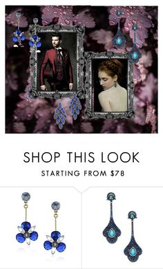 """""""Enchanting"""" by sunnyjuke ❤ liked on Polyvore featuring Kate Spade, Arthur Marder Fine Jewelry and Elizabeth Cole"""