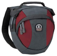 Buy: Tamrac 5766 Velocity Compact Sling Pack, for Digital & Film SLRs with up to Zoom Lens Attached, & Accessories - Gray/Burgundy MFR: Holds: DSLR (Medium Lens), Material: Fabric Camera Sling Bag, Camera Case, Sling Bags, Photo Accessories, Camera Accessories, Digital Film, Photo Bag, Photo Equipment, Best Camera