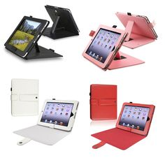 INSTEN Leather Tablet Case Cover with Magnetic Closure and Kickstand for Apple iPad - Overstock™ Shopping - The Best Prices on INSTEN iPad Accessories