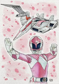 Pink Ranger - Digital Painting - Fanart based on the television series Power Rangers - Tools used: Paint Tool Sai / Photoshop - Digital Art by Diego GoN / GoN_Illustrator Power Rangers Rosa, Kimberly Power Rangers, Pink Ranger Kimberly, Power Rangers Fan Art, Power Rangers Series, Mighty Morphin Power Rangers, Desenho Do Power Rangers, Powe Rangers, Batman The Animated Series