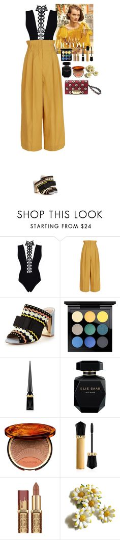 """""""Outfit"""" by eliza-redkina on Polyvore featuring мода, Sonia Rykiel, Miss KG, MAC Cosmetics, Christian Louboutin, Elie Saab, Clarins, ZAC Zac Posen, StreetStyle и outfit"""