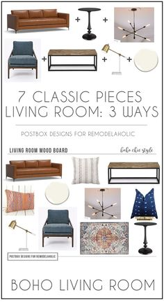 You Only Need 7 Items: Create 3 New Design Looks with Simple Swaps - Postbox Designs