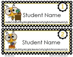 Have a BEE-themed classroom