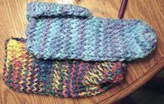 Knifty Knitter Slipper