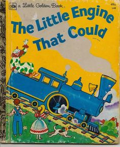 a Little Golden Book--THE LITTLE ENGINE THAT COULD - vintage childrens book